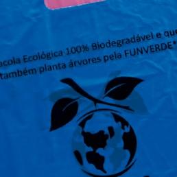 Sacolas biodegradáveis