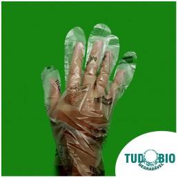 Embalagens biodegradáveis - Luvas biodegradáveis - TudoBiodegradável