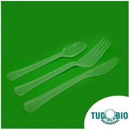 Embalagens biodegradáveis - Talheres biodegradáveis - TudoBiodegradável