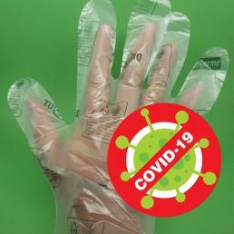 Luvas anti covid que destrói o corona vírus