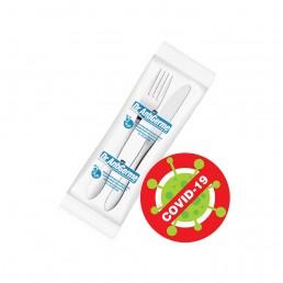 Sacos plásticos anticoronavírus e antigermes fabricados com d2pAM